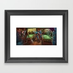 Super Bar Framed Art Print