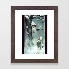 Snowfelt Framed Art Print