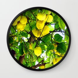 if life gives you lemons... Wall Clock