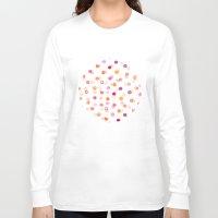polka Long Sleeve T-shirts featuring Polka by Eleanor Amelia