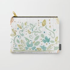 Boho floral Carry-All Pouch