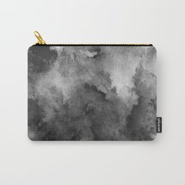 ink style of black watercolour texture Carry-All Pouch