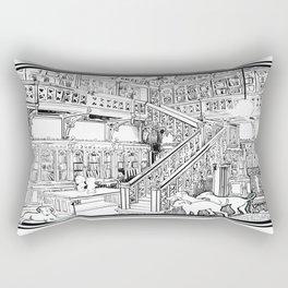 Borzoi puppies Rectangular Pillow