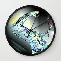 warrior Wall Clocks featuring Warrior by sladja