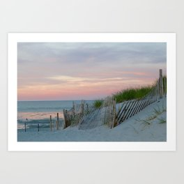Sunset on Cape Cod Art Print