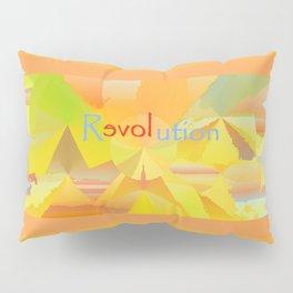 ReLOVEution Abstract Art Pillow Sham