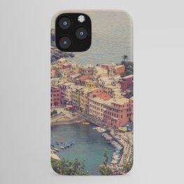 Vernazza, Cinque Terra, Italy iPhone Case
