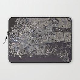 San Francisco City Map Laptop Sleeve