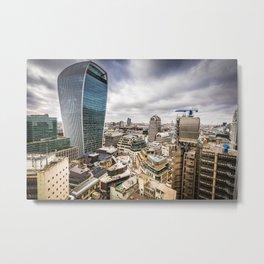 Modern London Skyline Metal Print