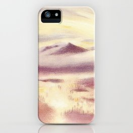 Sunrise in Scandinavia iPhone Case