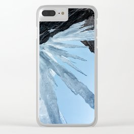 Sharp Cold Clear iPhone Case