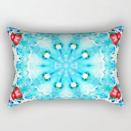 Turquoise kiss Rectangular Pillow