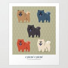 Chow Chow Art Print