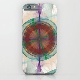 Fractal Art Maia Nebula  iPhone Case