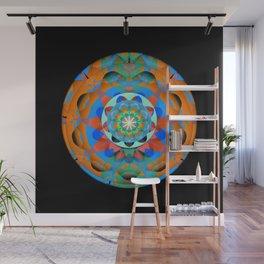 Elegant Meditatin Mandala Wall Mural