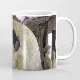 Temple within a cave Coffee Mug