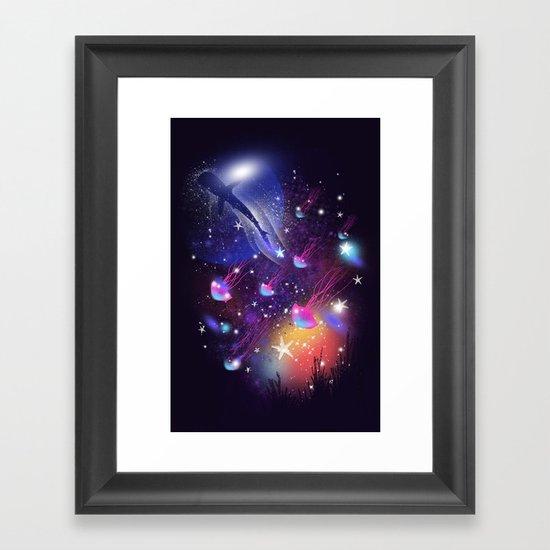 Cosmic Sea Framed Art Print