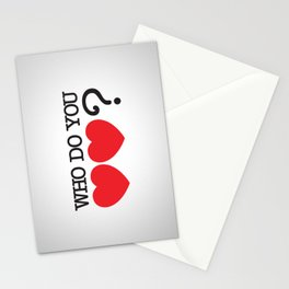 Who Do You Love? Stationery Cards