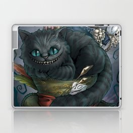 The Cheshire Cat and his friends Laptop & iPad Skin