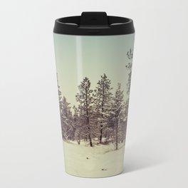 winter time Metal Travel Mug