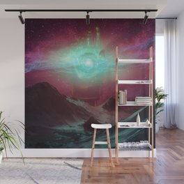 Great Godly Golden Glove of Galaxies (02/07/17) Wall Mural