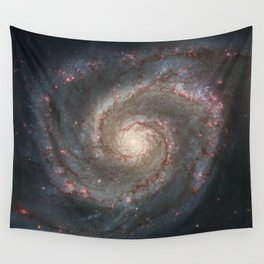 Whirlpool Galaxy Wall Tapestry