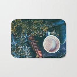 Wanderlust Coffee Bath Mat