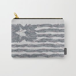 America Feather Flag Carry-All Pouch