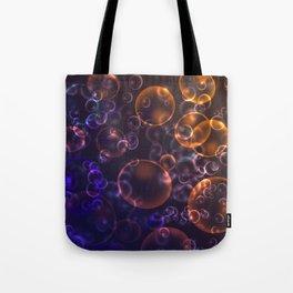 Mirages. Blurred background Lenses, bubbles Tote Bag