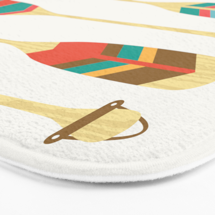 Summer Lake Bath Mat