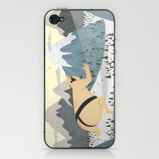 Oyama Fights The Mountain iPhone & iPod Skin