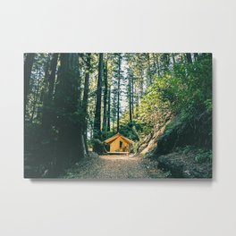 Camp Vibes / Big Sur, California Metal Print
