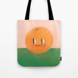 Happy happy Tangerine Tote Bag