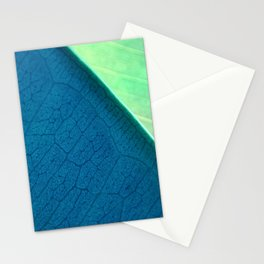 Contemporary Leaf Design, Version #1 Stationery Cards