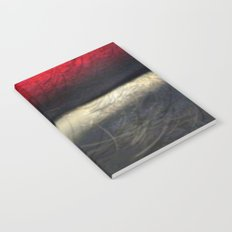 RED AND WHITE Notebook
