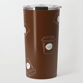 Raining Coffee Travel Mug
