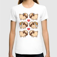 asexual T-shirts featuring Puglie Pride by Puglie Pug