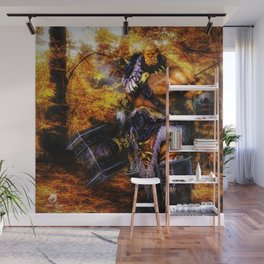 For Orcs, War Solves Everything Wall Mural