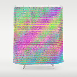 The Incident at The Highlighter Factory Shower Curtain
