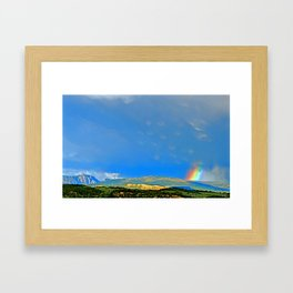 Wild Sky Framed Art Print