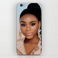 Normani iPhone & iPod Skin
