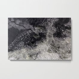 Floating ice sheets Metal Print