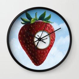 D (StrawberryClock's Dream) Wall Clock