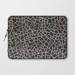 Crackle Magenta Suede Laptop Sleeve