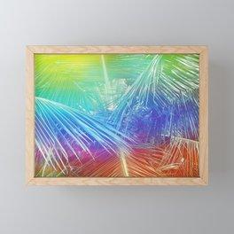 Psychedelic Palm Framed Mini Art Print