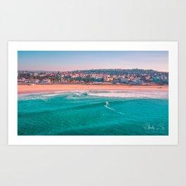 Bondi Beach, Sydney - Australia Aerial Photograph Art Print