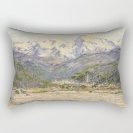The Valley of the Nervia Rectangular Pillow
