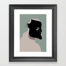The Black Mask Collection 006 Framed Art Print