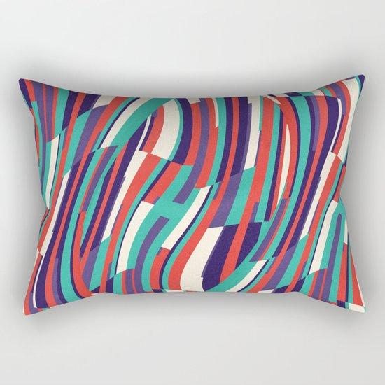 Respect Lines Rectangular Pillow