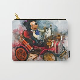 Mickey Mouse Steam Punk Carry-All Pouch